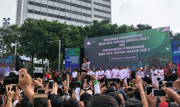 MRT Jakarta Resmi Beroperasi