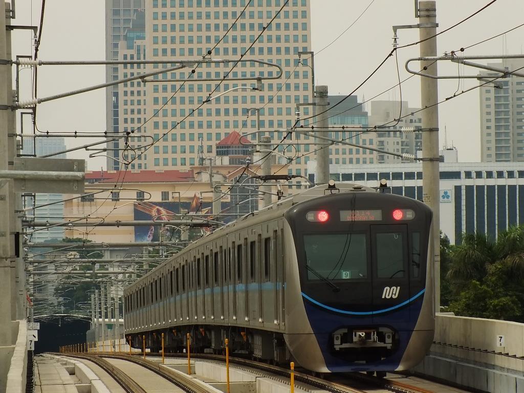 KRL MRT Jakarta