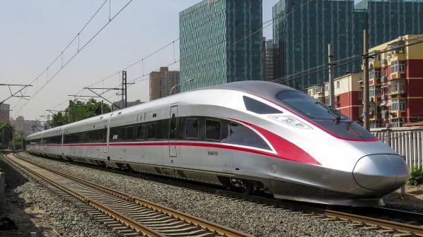 Ilustrasi Rangkaian CR400AF yang rencananya akan digunakan sebagai armada kereta cepat Jakarta - Bandung | Foto: Railjournal