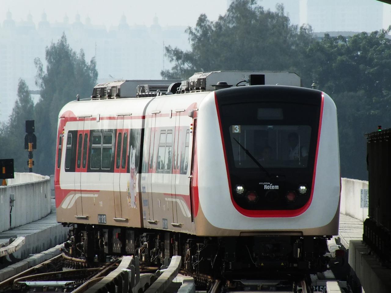 LRV LRT Jakarta