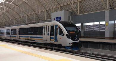 Rangkaian LRT Palembang