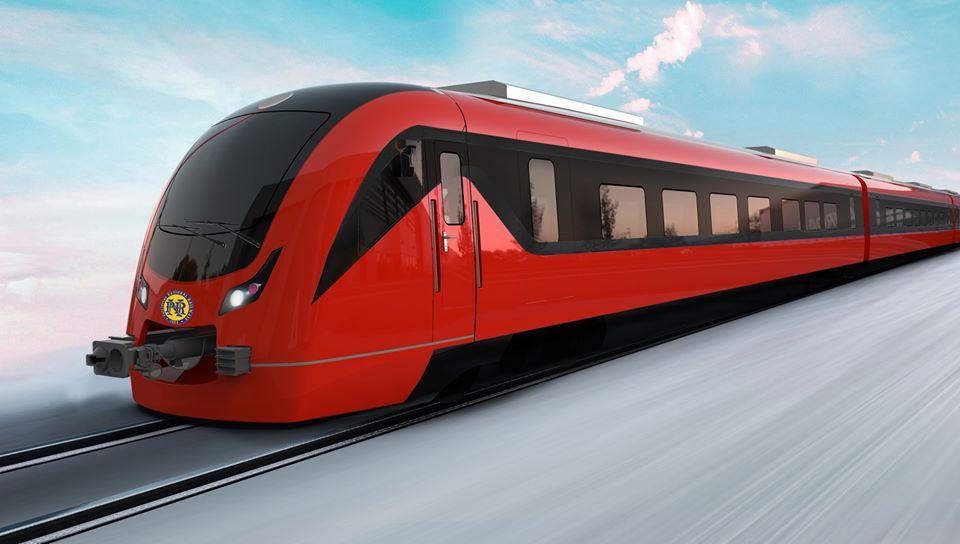 Desain KRD buatan CRRC yang akan dibeli oleh PNR