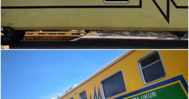 Sarana Uji Dinamis Kereta Api Buatan PT INKA | Foto : Oktavino dan Rizki Fajar