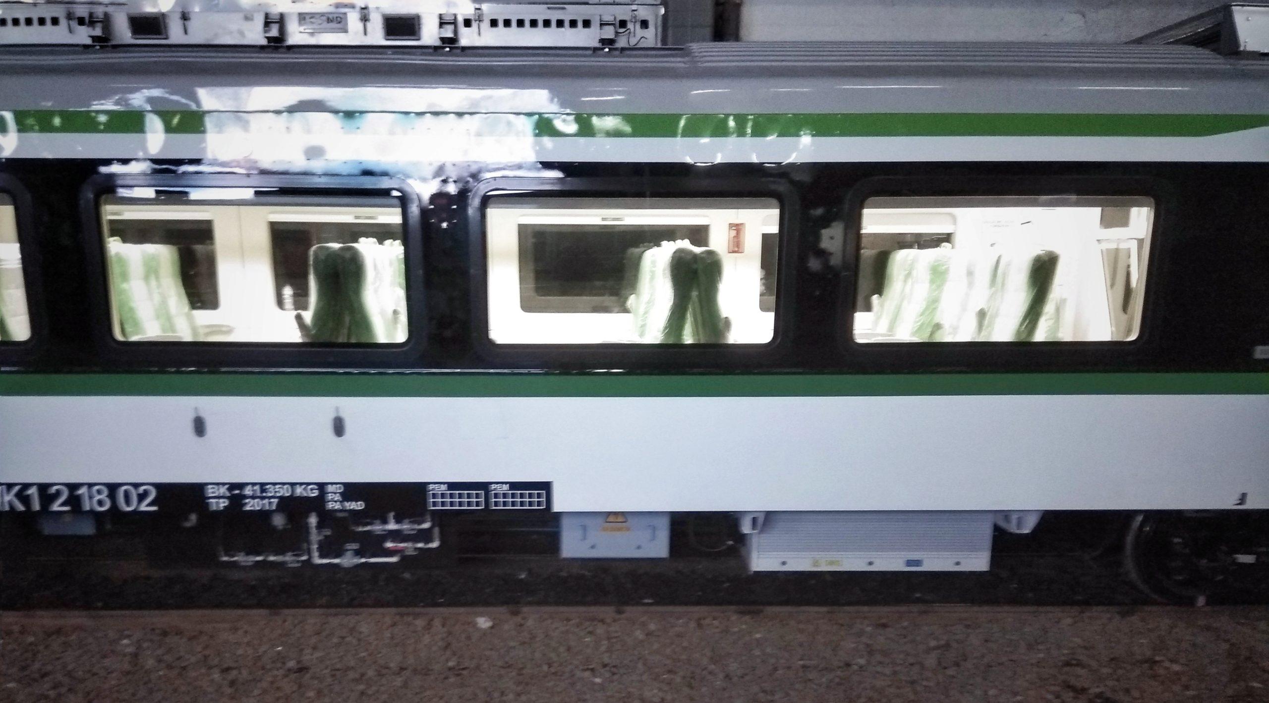 Sistem Elektrikal MITRAC 1000 pada KRDE ME 204