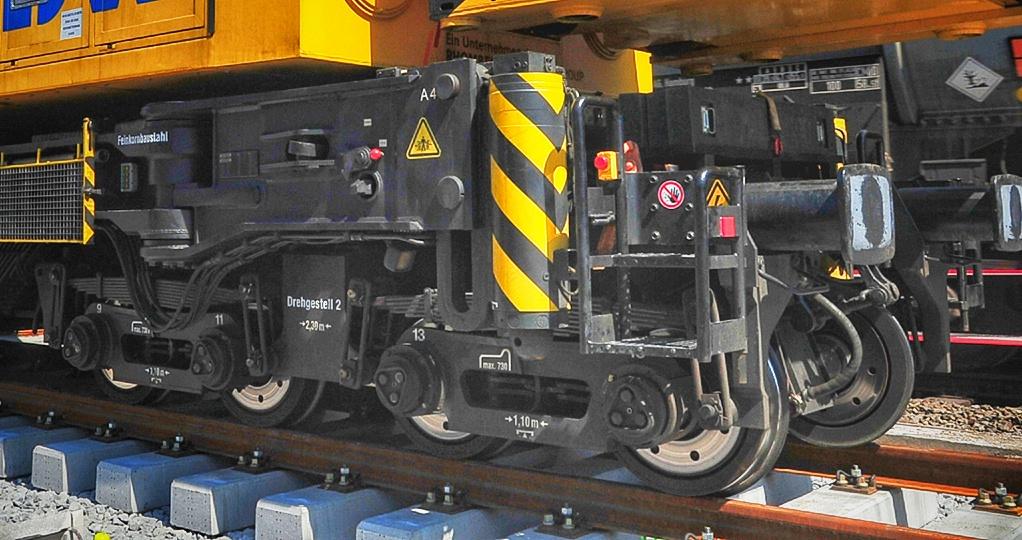 Bogie Kirow Railway Crane | Sumber : Rhomberg Sersa Rail Holding GmbH