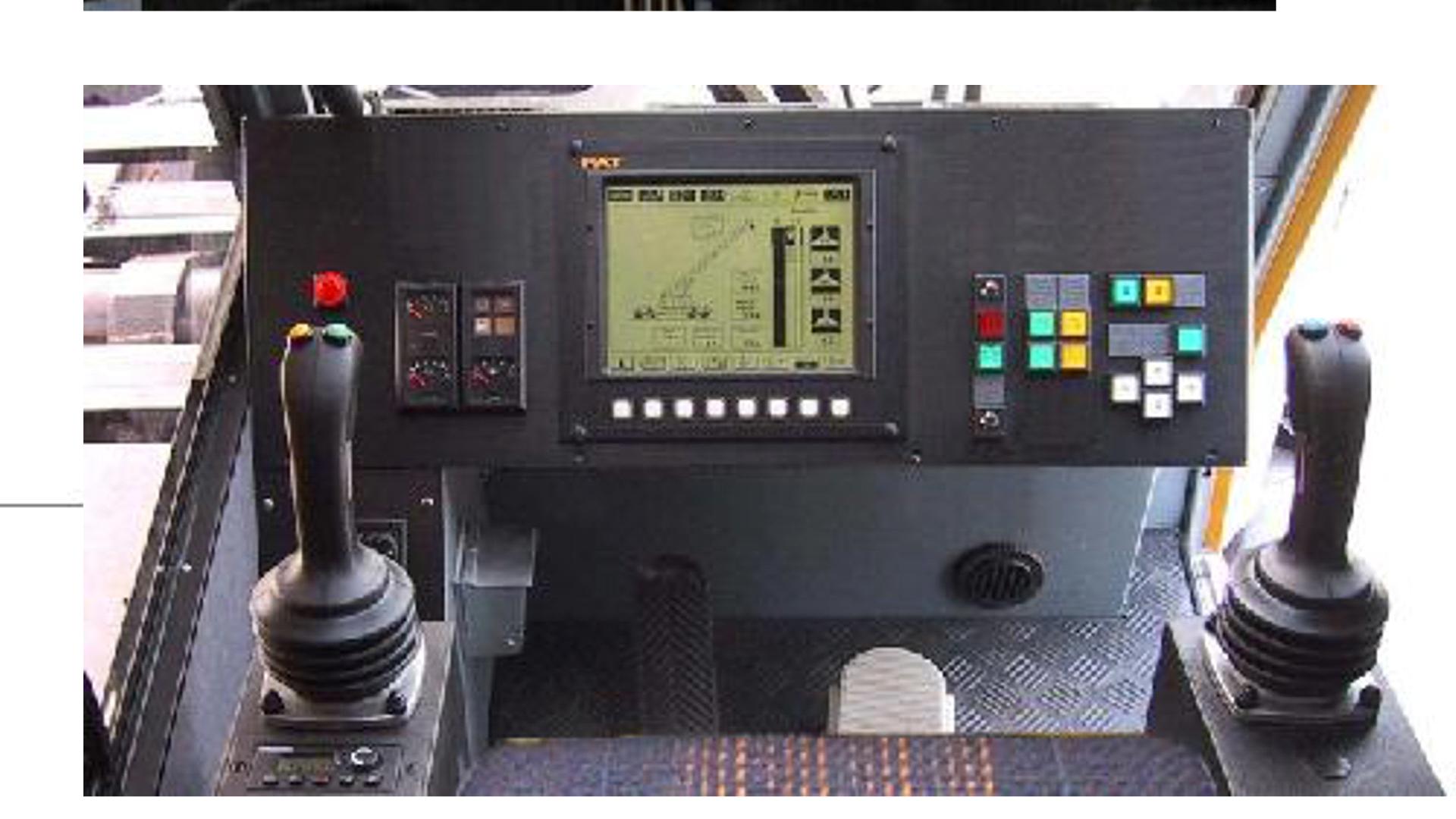 Sistem Kontrol Kirow KRC800N pada Kabin Pengemudi │ Sumber : PT KAI