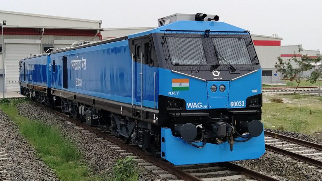 Lokomotif WAG-12 India   Foto: Alstom