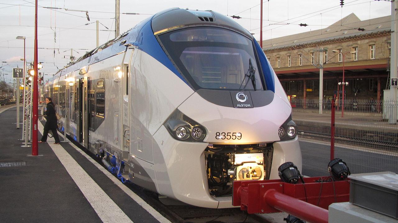 Ilustrasi kereta buatan Alstom