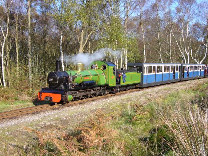 Ilustrasi lokomotif Ravenglass and Eskdale Railway