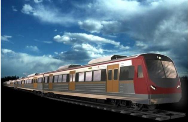 Desain dan Konsep Kereta Rel Listrik Indonesia buatan PT INKA | Sumber: PT INKA