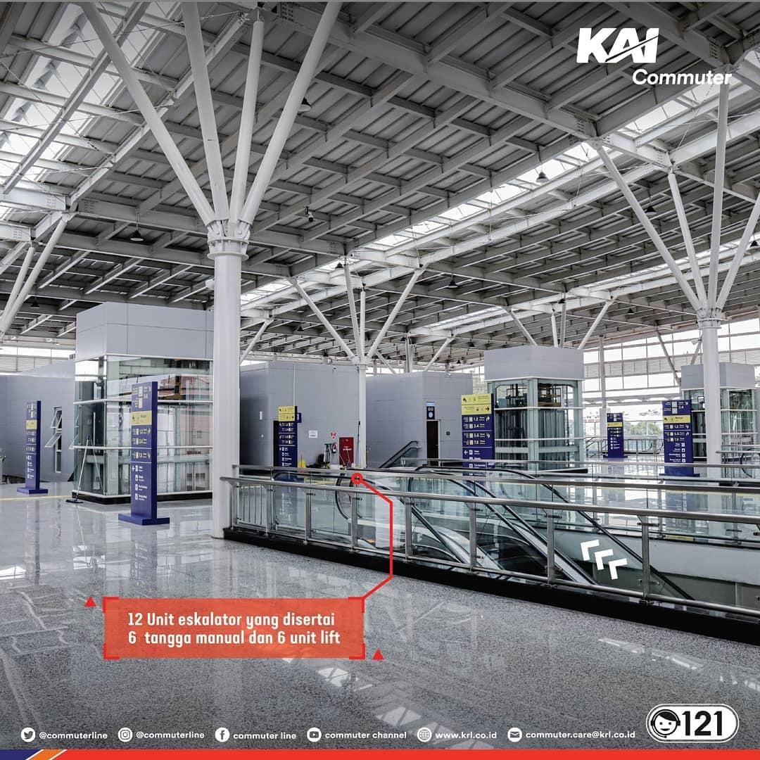 concourse baru Stasiun Jatinegara
