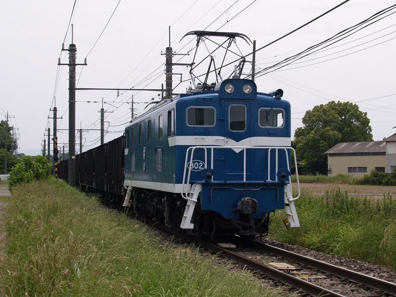 KA angkutan batu kapur saat melintas di petak antara Takekawa dan Mikajiri