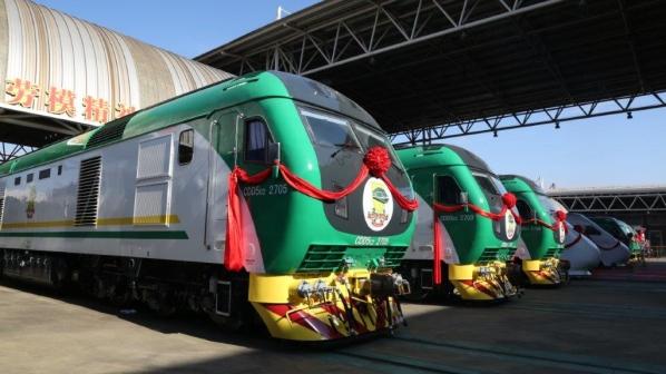 lokomotif nigeria crrc