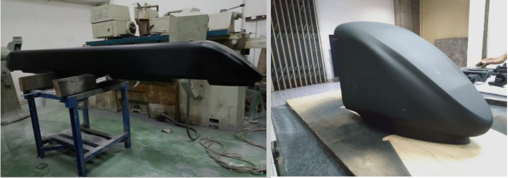 Model Mask of Car (MoC) Kereta Cepat Buatan Indonesia   Sumber: PTSPT