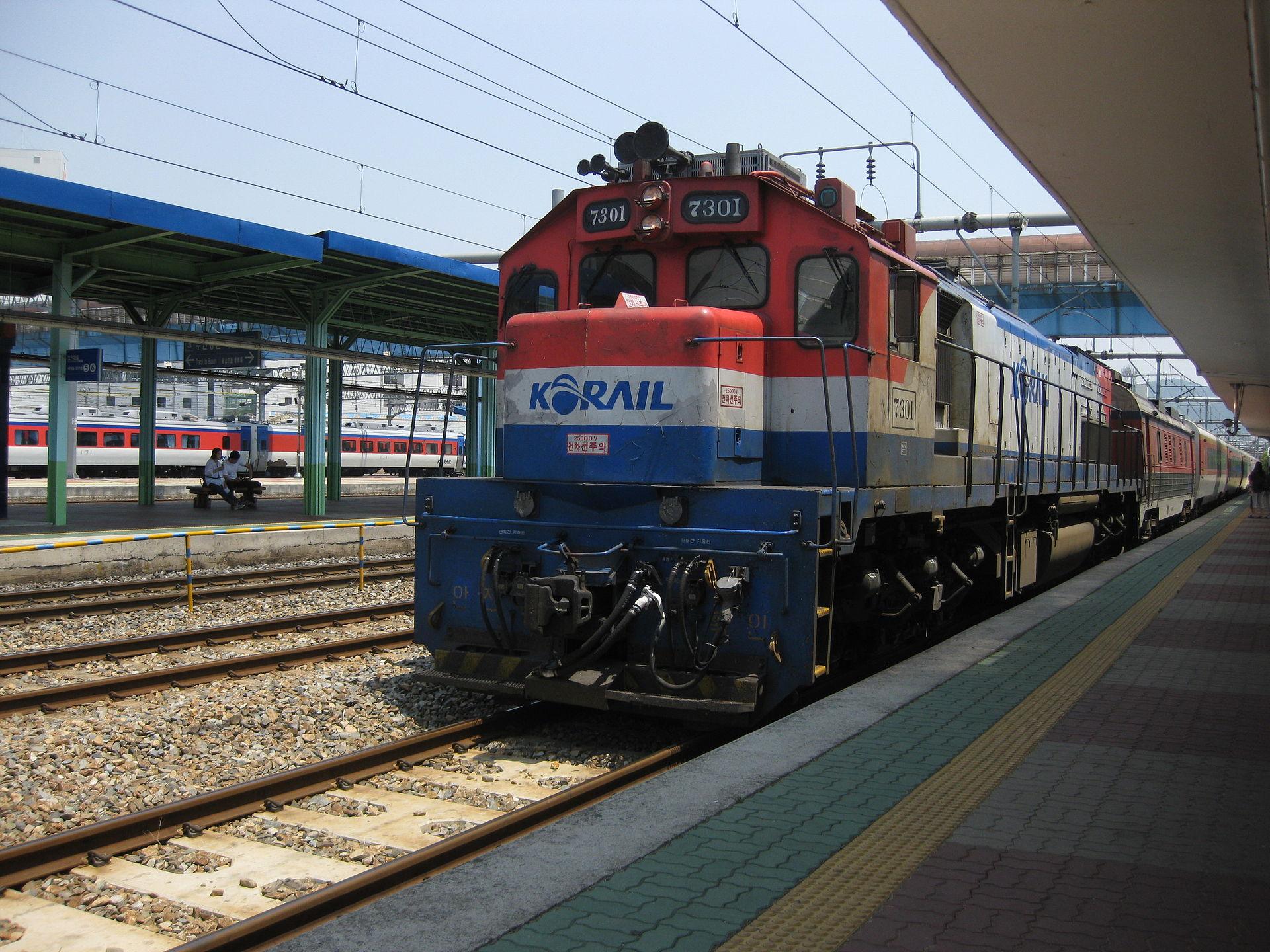 Ilustrasi KA penumpang Korail