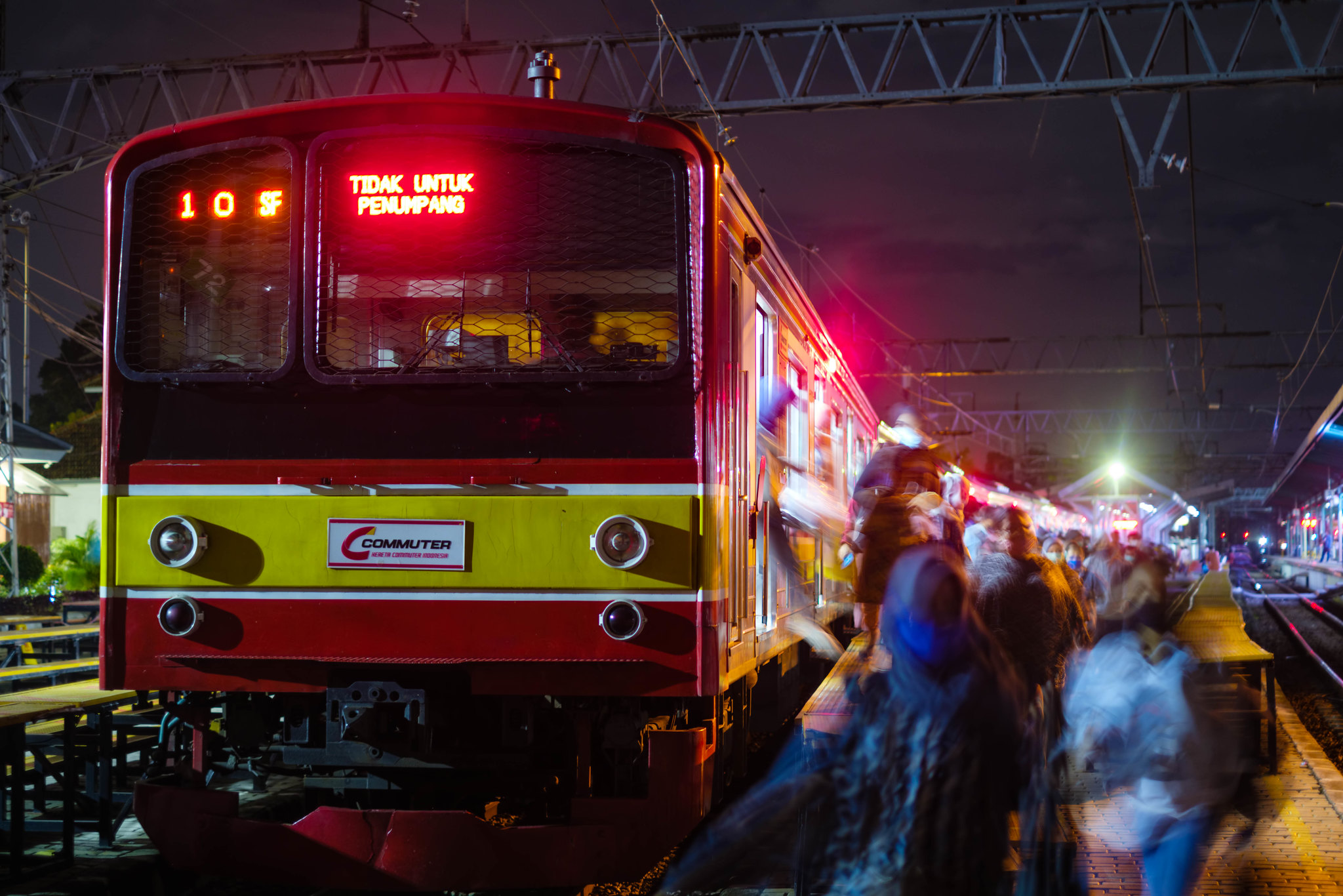 Pengguna KRL Commuter Line