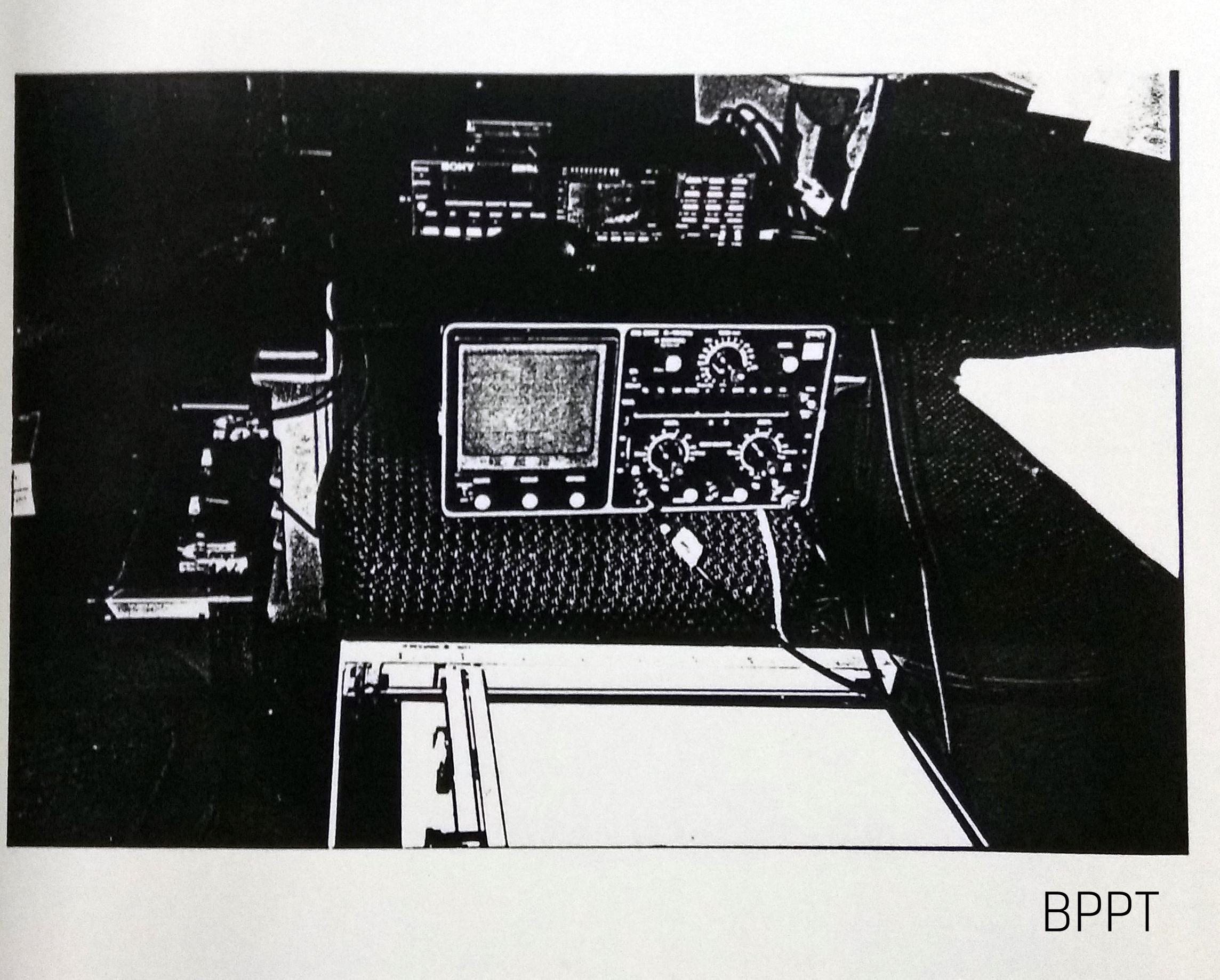 Peletakan Alat Ukur di Kereta Sembrani   Sumber: BPPT