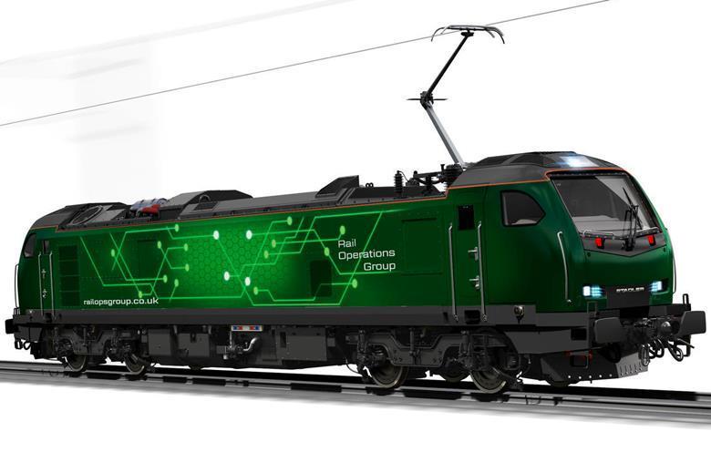Render lokomotif class 93