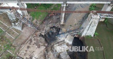 jembatan glagah ambruk