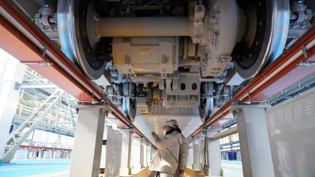 sistem pengereman kereta cepat tahan dingin