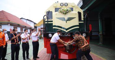 Lokomotif CC2018331 vintage livery