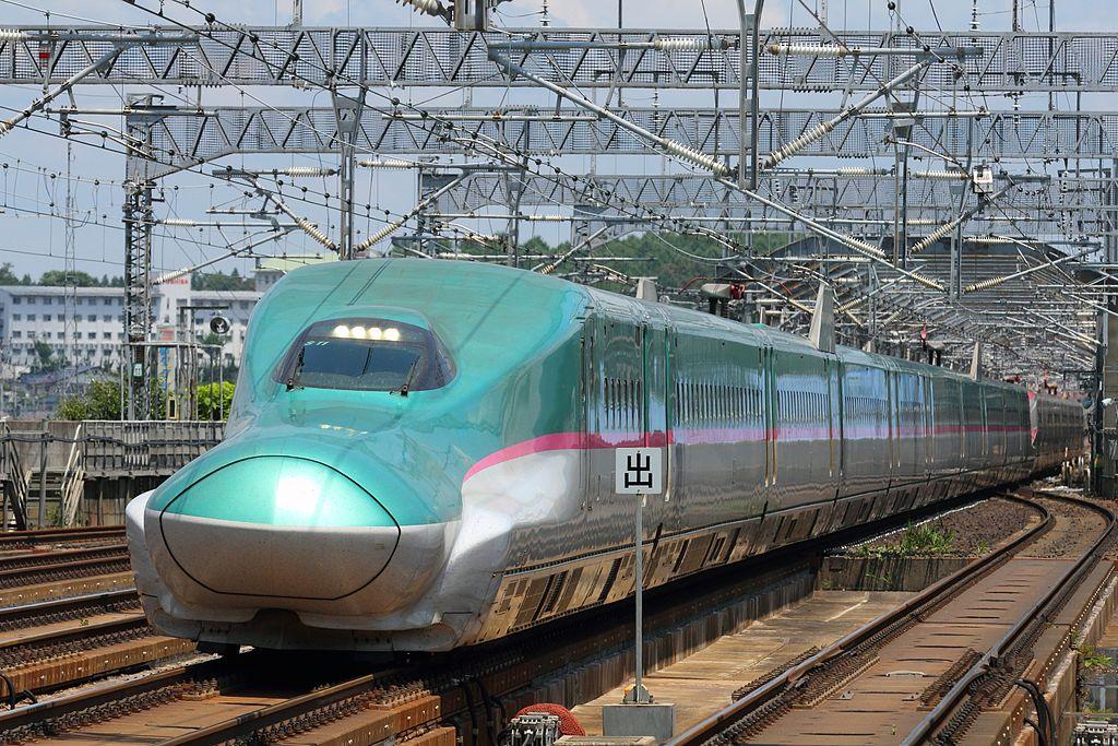 Ilustrasi Tohoku Shinkansen