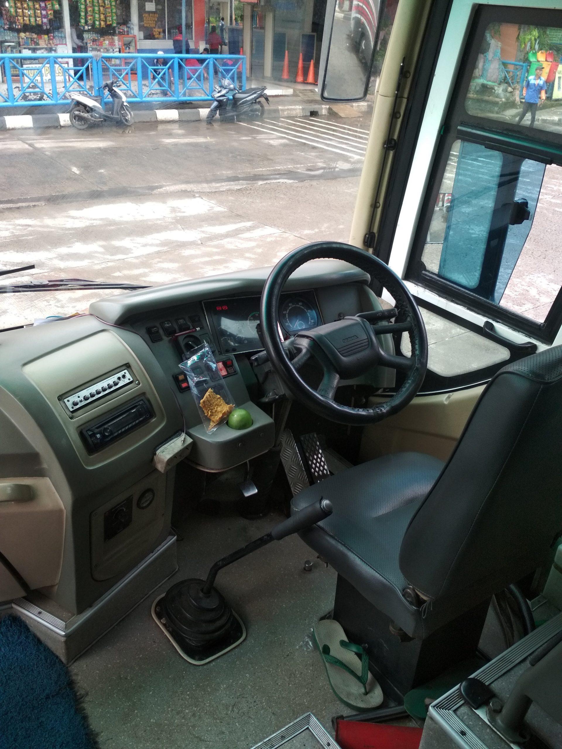 Dasbor Scania K114iB