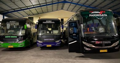 Armada bus Restu Wijaya