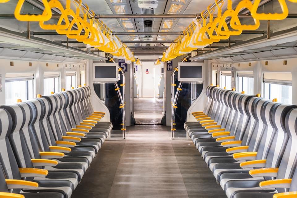 Interior KRL Bandara Premium