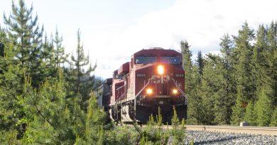 Ilustrasi lokomotif Canadian Pacific
