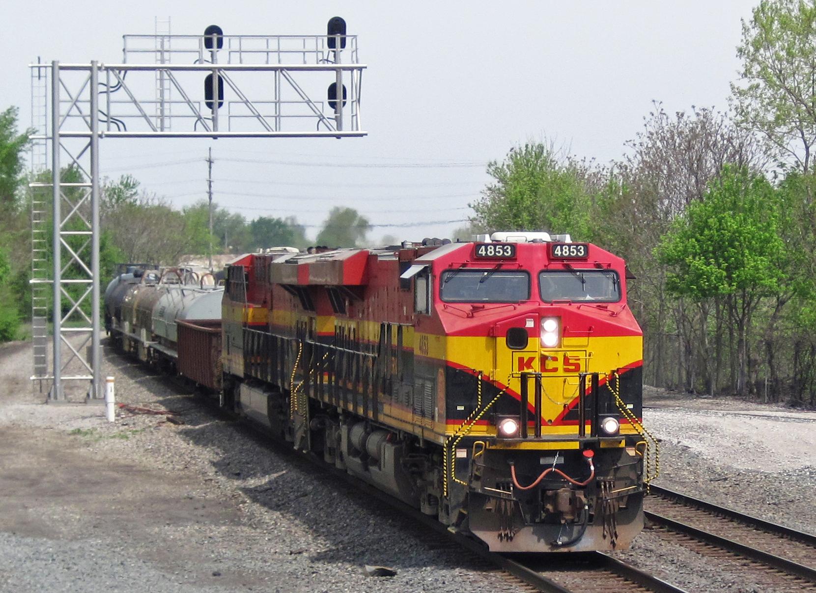 Lokomotif Kansas City Southern Railway