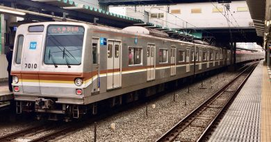 Tokyo Metro Seri 7000 7110F