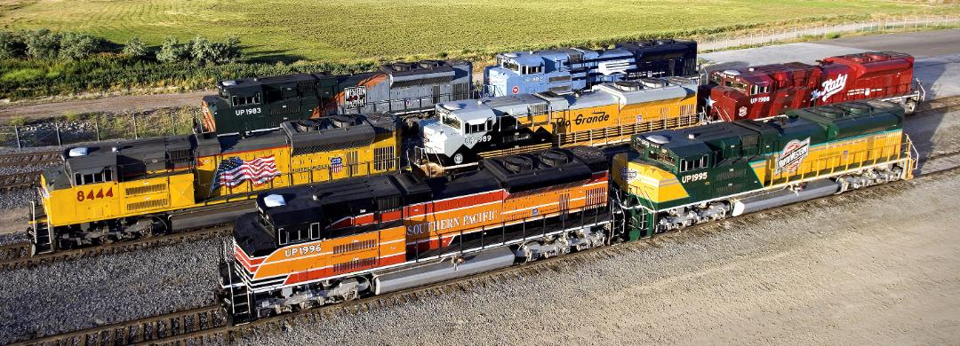 Heritage unit Union Pacific