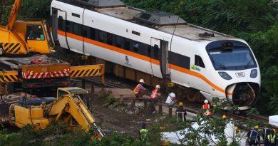 Kecelakaan KA Taiwan