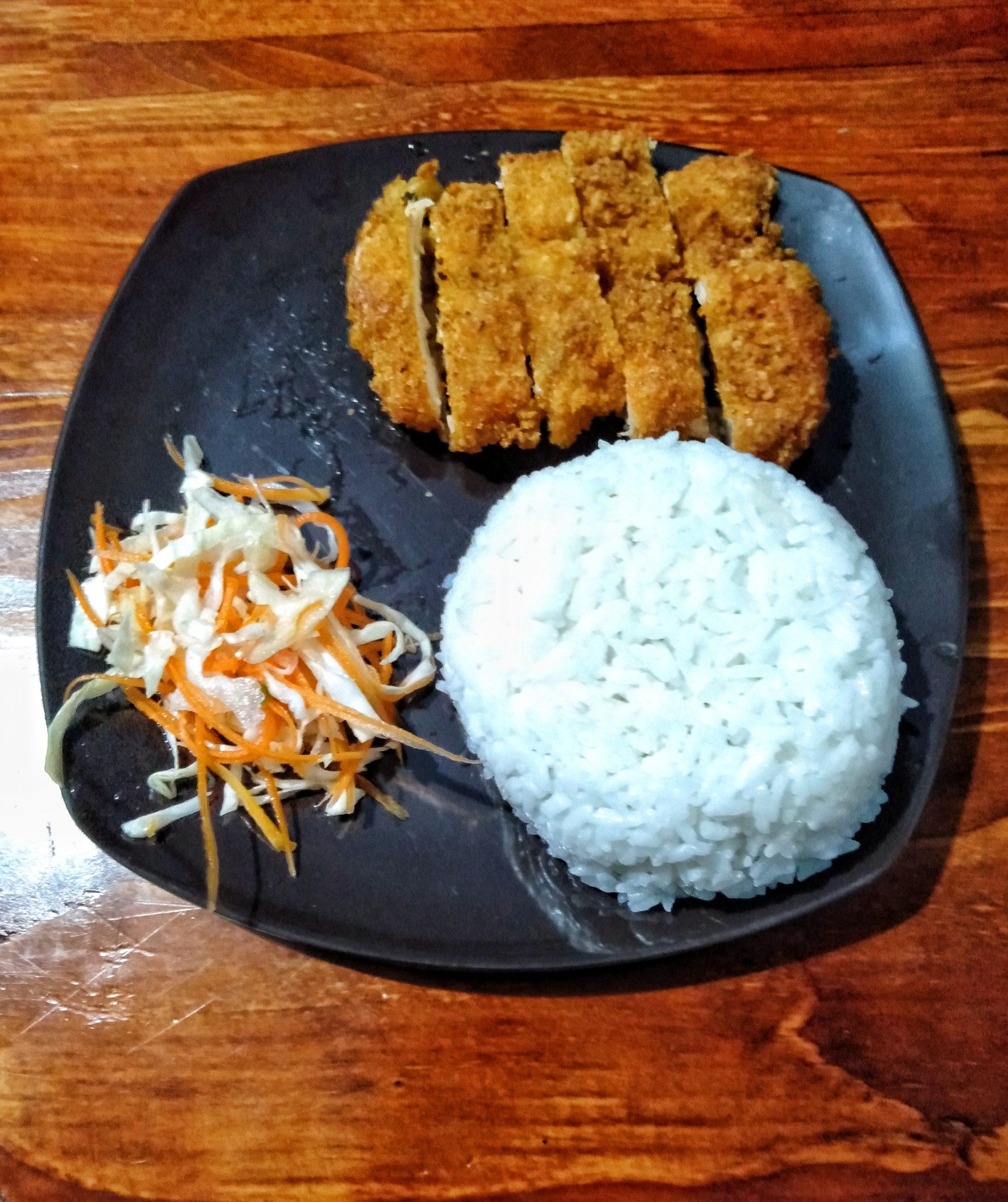 Nasi Chicken Katsu