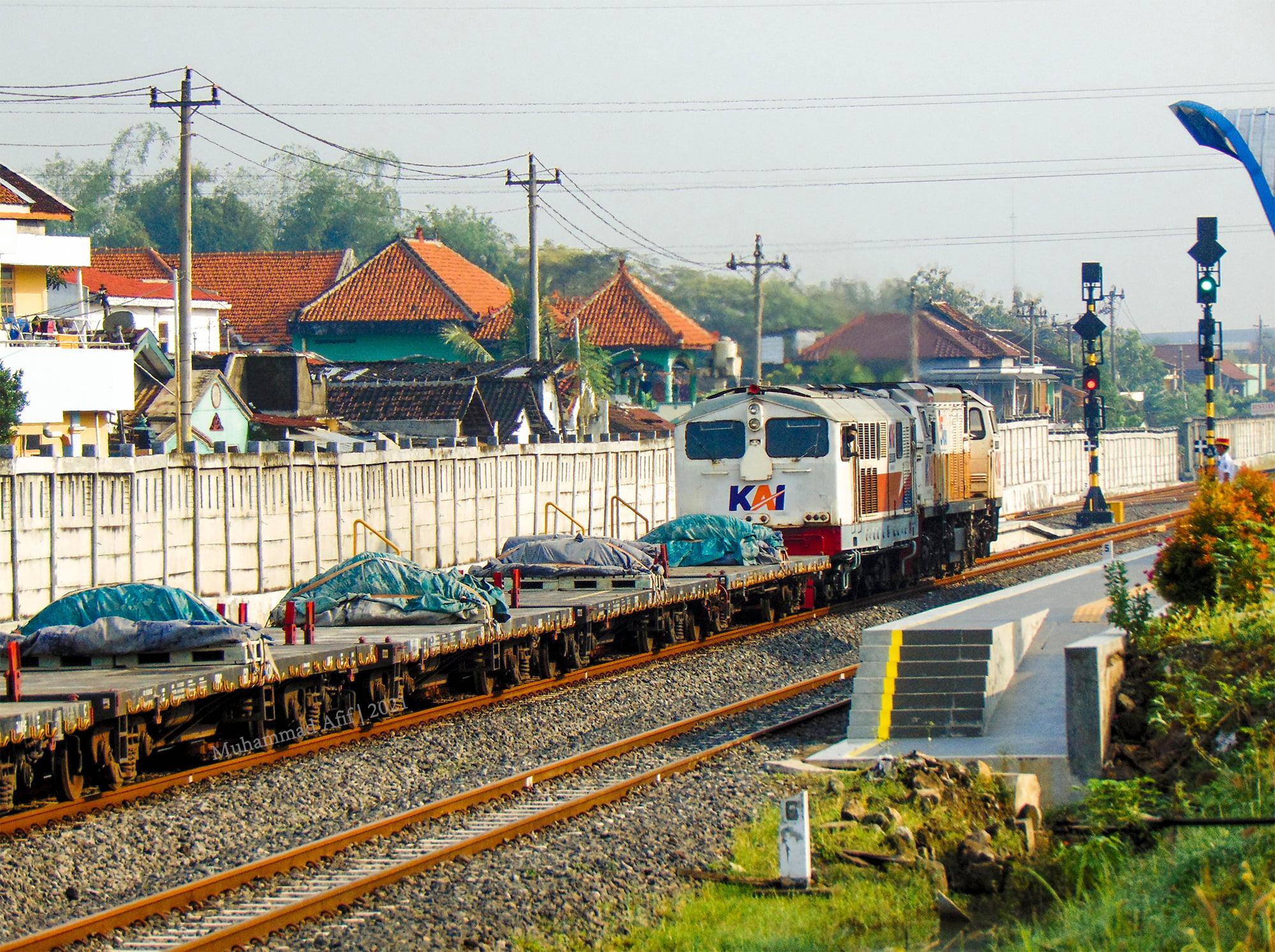 BB3048411 saat dibawa pulang ke Semarang Poncol