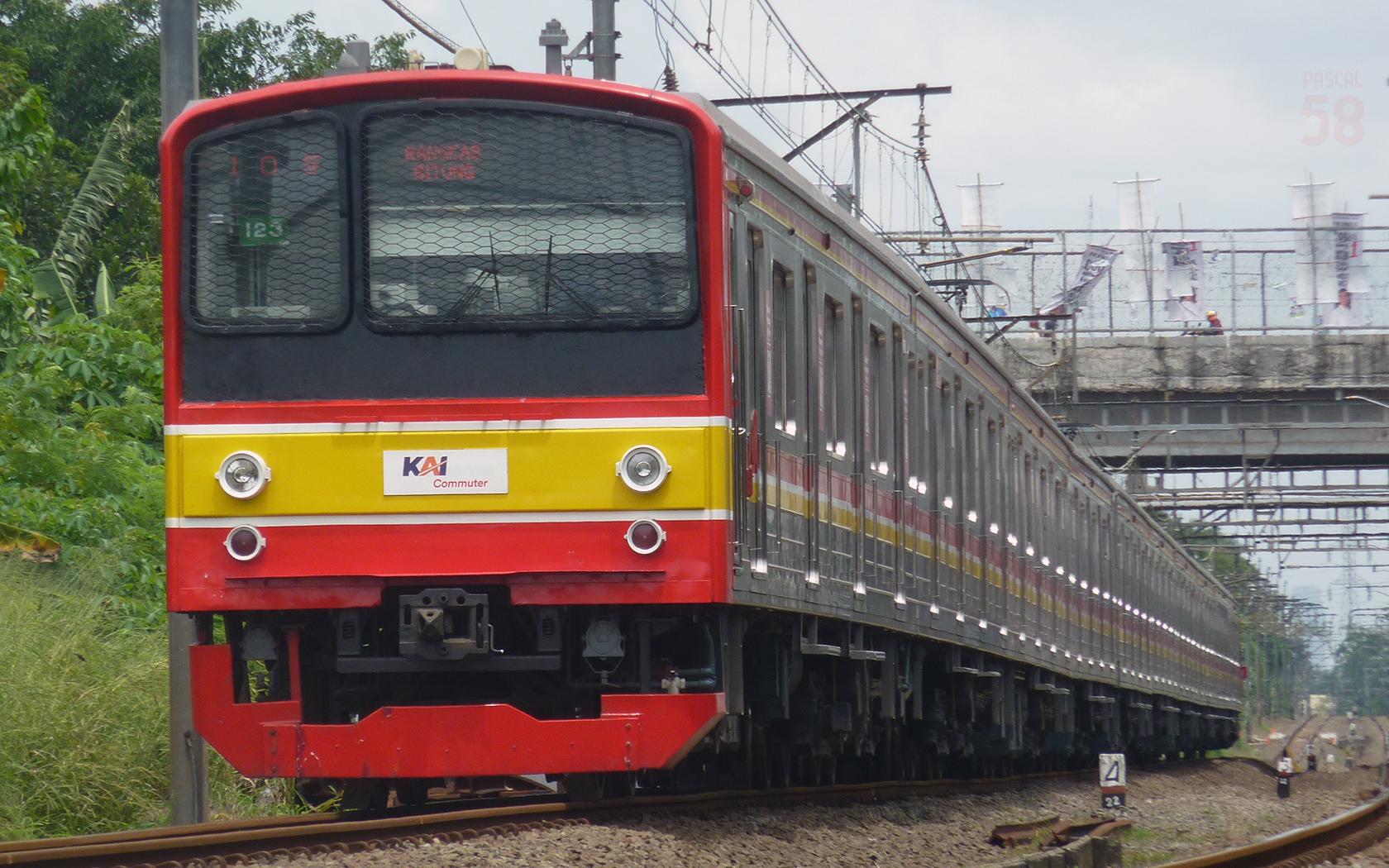 KRL tujuan Rangkasbitung