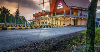 Bangunan baru Stasiun Malang