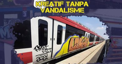 Vandalisme LRT Jabodebek