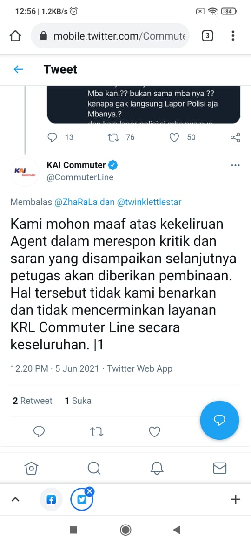 Klarifikasi KAI Commuter