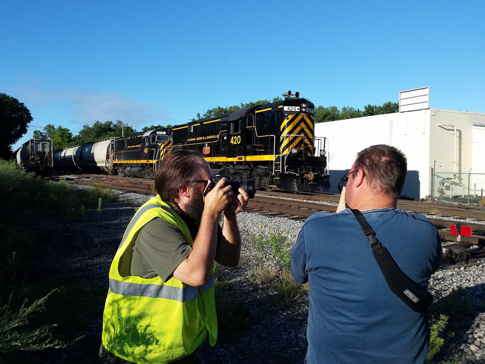 Railfans rompi
