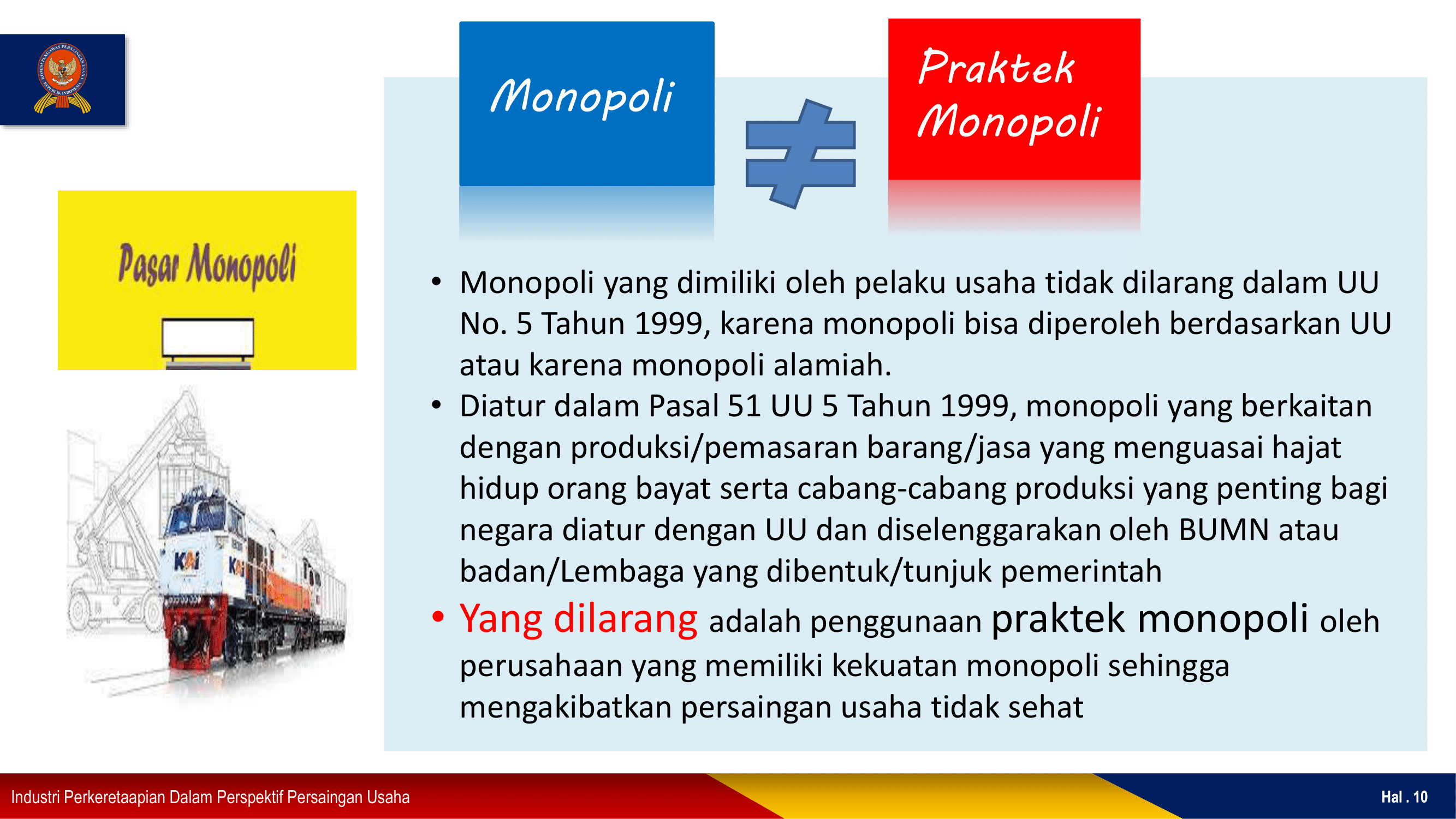 praktik monopoli dan monopoli