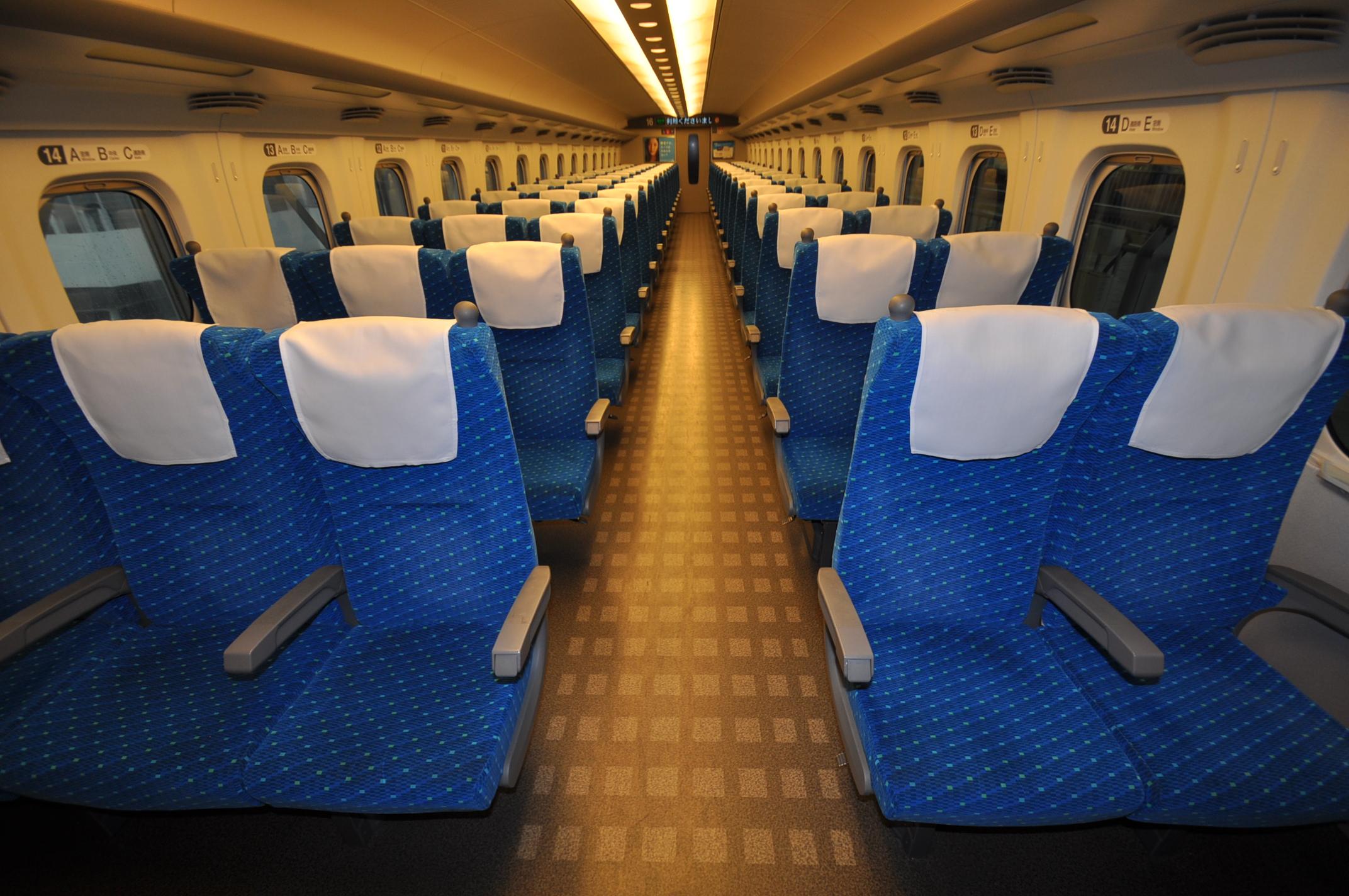 Kelas standar Shinkansen N700