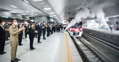 Uji coba Red Line Bangkok